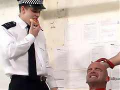 Police Punishment - Roasted - Food - Trampled - Fucked - Fed Cum - Deep Throat